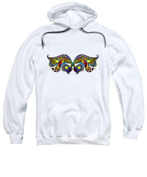 Chrysalis Sweatshirt by Dar Freeland