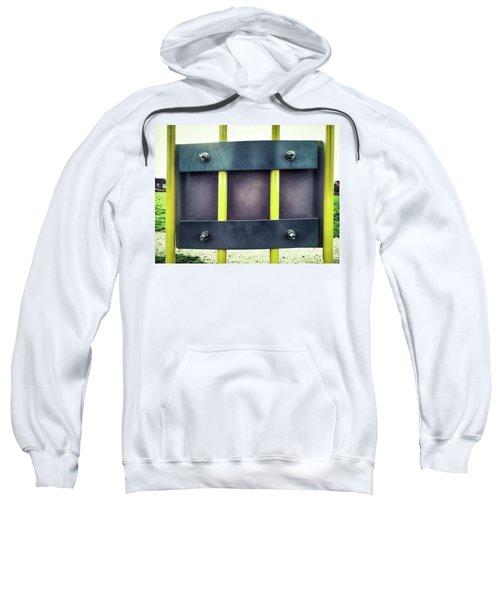 Yellow Bars Close Up  Sweatshirt