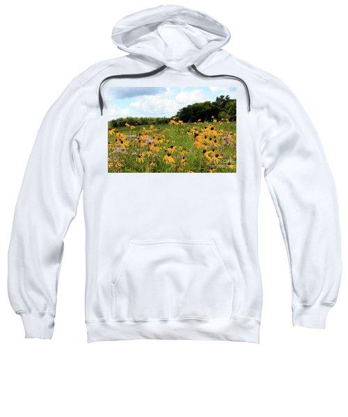 Yellow Cone Flowers Sweatshirt