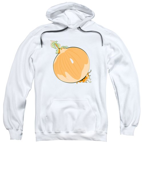 Yellow Onion Sweatshirt by MM Anderson