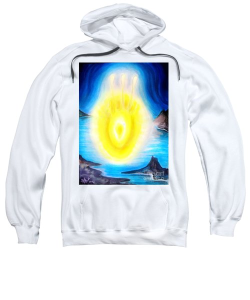 Yellow Plasmoid. Live Lightning Sweatshirt