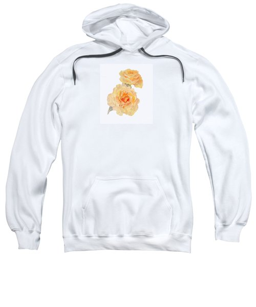 Yellow Roses Sweatshirt by Beatrice Cloake