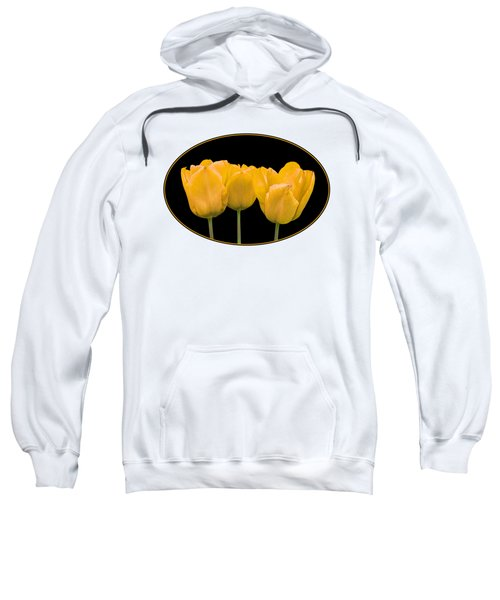 Yellow Tulip Triple Sweatshirt
