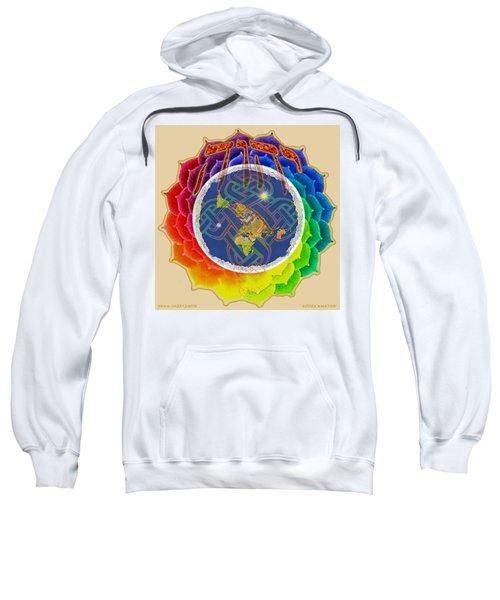 Yhwh Covers Earth Sweatshirt