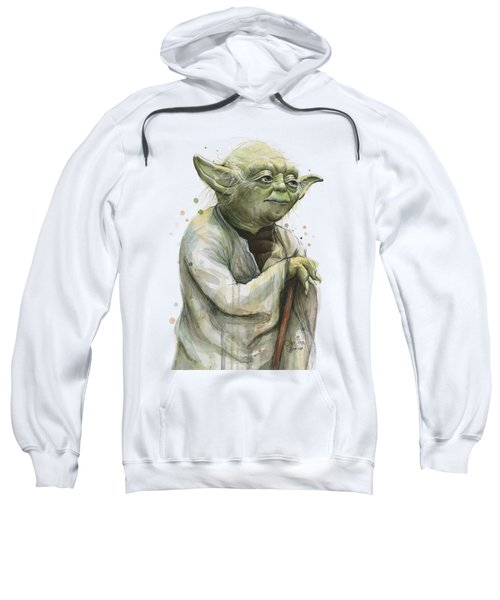 Yoda Watercolor Sweatshirt