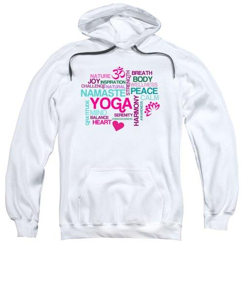 Yoga Studio Pastel Harmony Sweatshirt