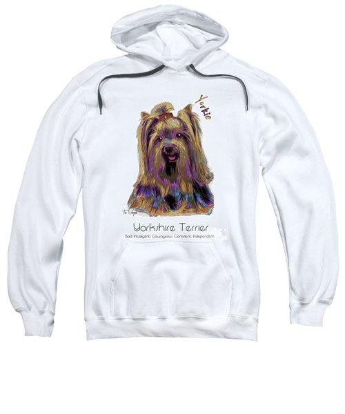 Yorkshire Terrier Pop Art Sweatshirt