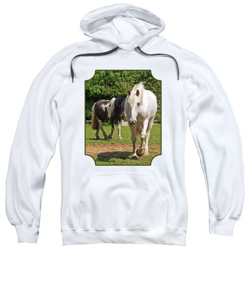 You Lead I'll Follow - Horse Friends Sweatshirt