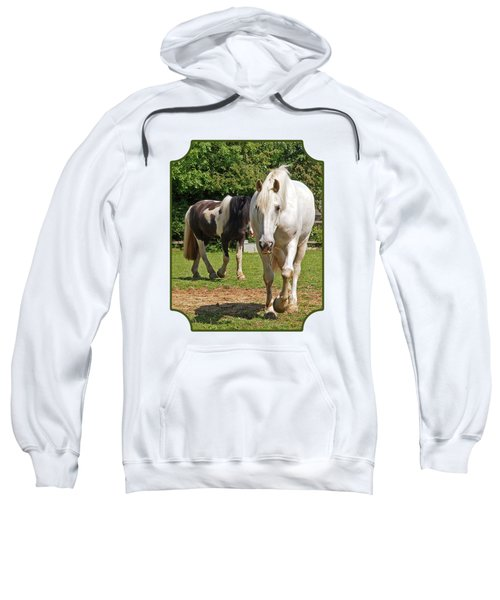 You Lead I'll Follow - Horse Friends Sweatshirt