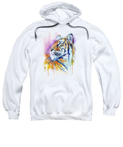 Young Tiger Portrait Sweatshirt