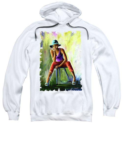 Young Woman Sweatshirt