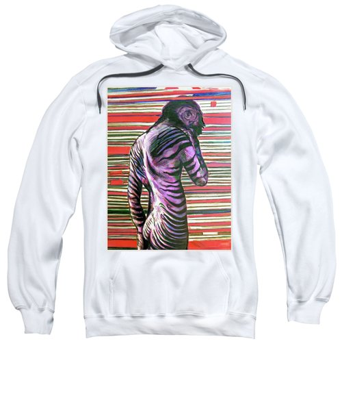 Zebra Boy Battle Wounds Sweatshirt