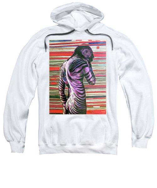 Zebra Boy Battle Wounds Sweatshirt