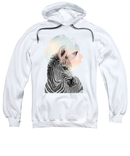 Zebra // Dreaming Sweatshirt by Amy Hamilton