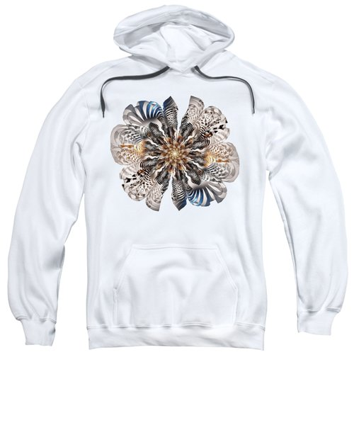 Zebra Flower Sweatshirt