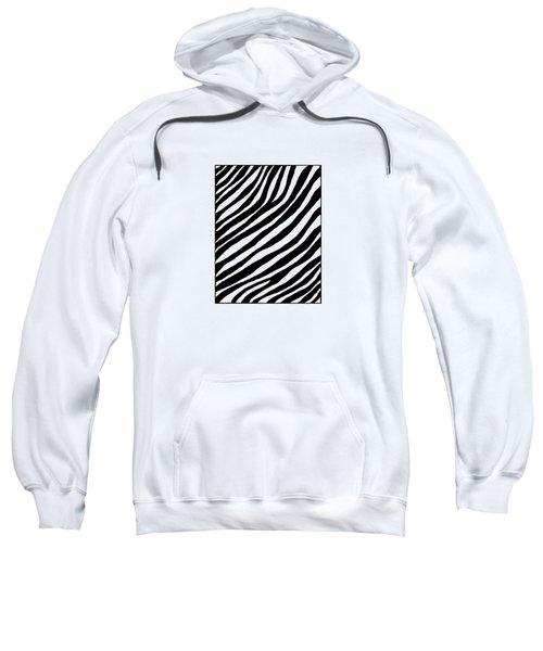 Zebra Sweatshirt by Konstantin Sevostyanov