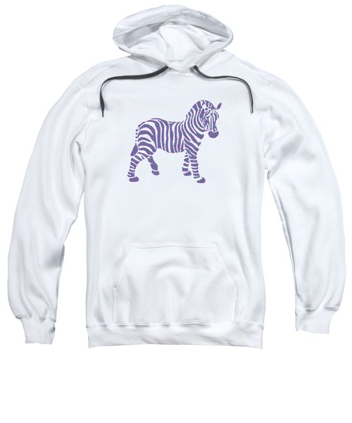 Zebra Stripes Pattern Sweatshirt
