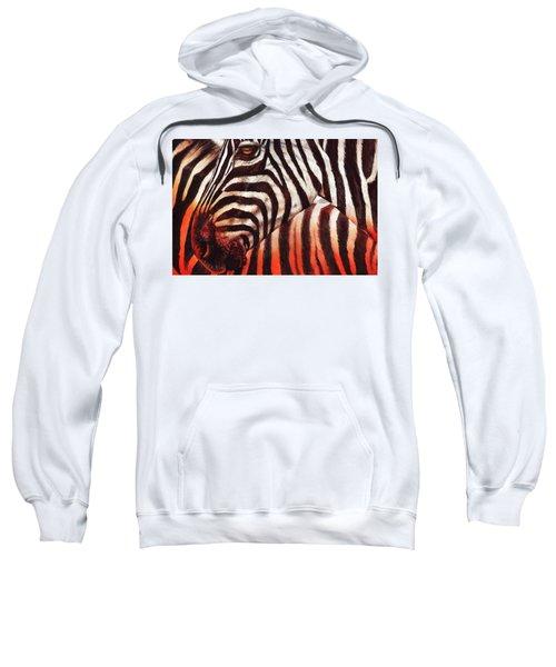 Zebra Sunset Sweatshirt