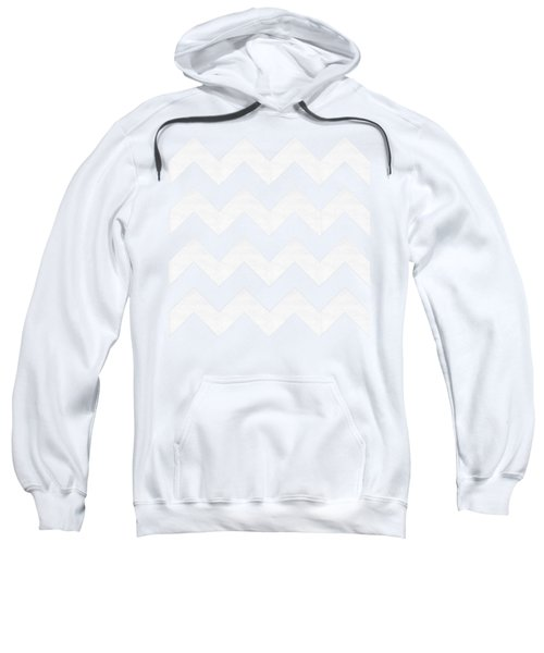 Zig Zag - White - Transparent Sweatshirt