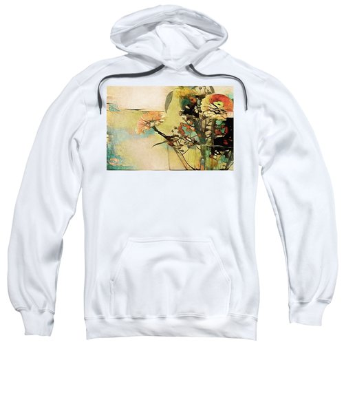 Zinnias From The Garden Sweatshirt