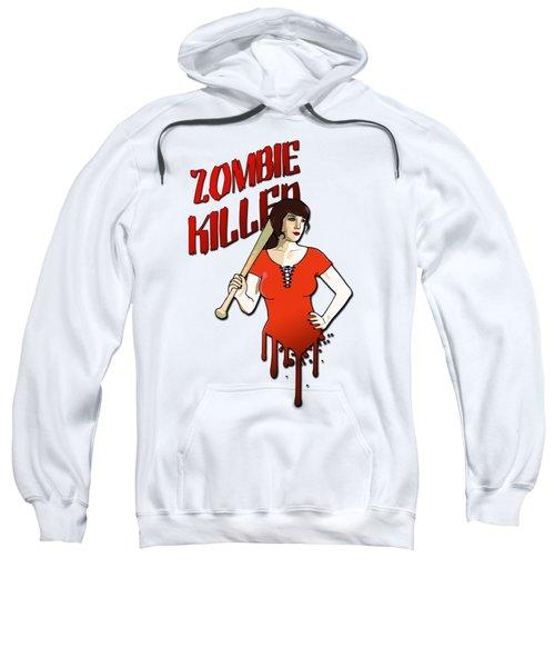 Zombie Killer Sweatshirt by Nicklas Gustafsson