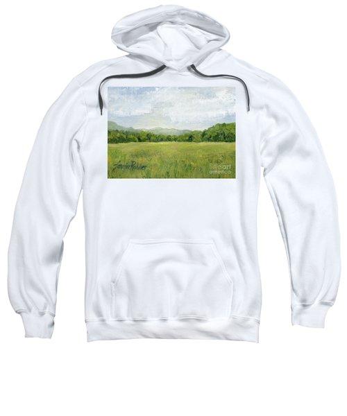 Fields Meet Mountains Sweatshirt