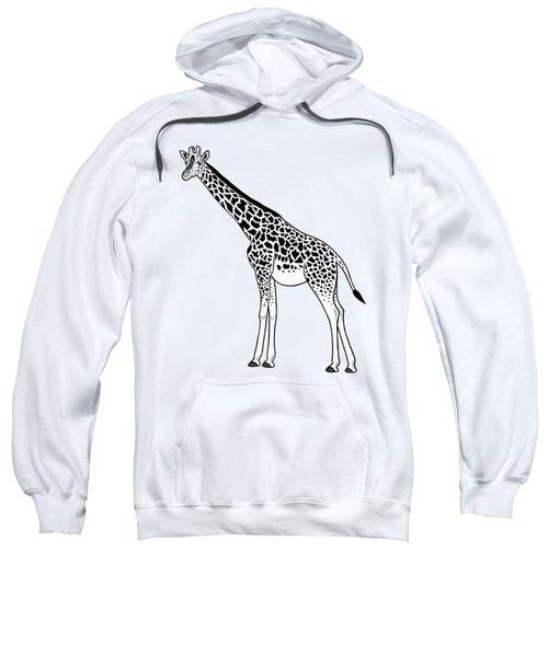 Giraffe - Ink Illustration Sweatshirt