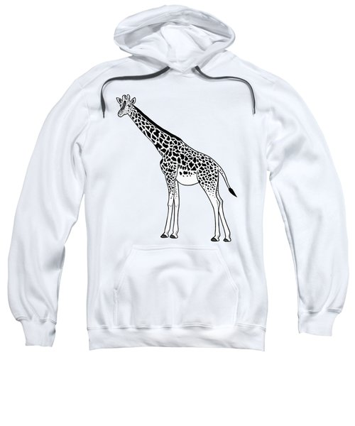 Giraffe - Ink Illustration Sweatshirt