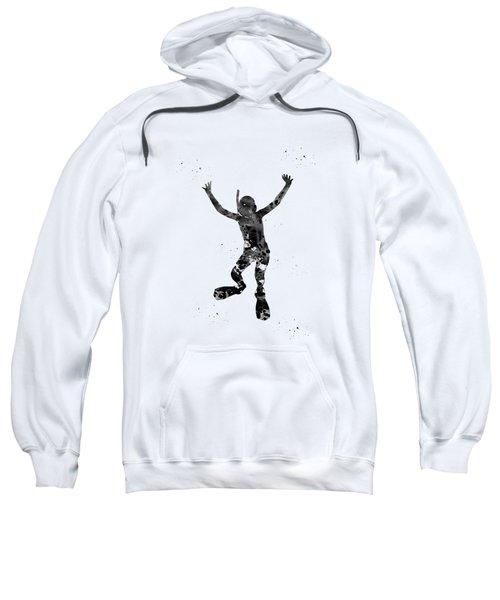 Kid Scuba Diver Sweatshirt