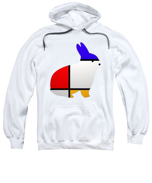 Modern White Sweatshirt