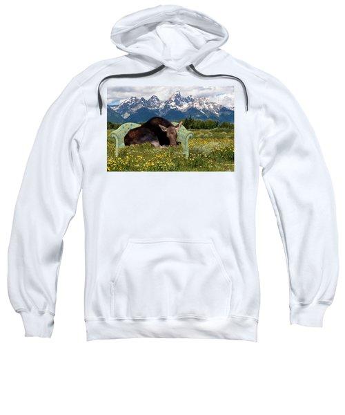 Nap Time In The Tetons Sweatshirt