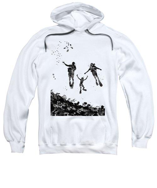 Scuba Divers Family Sweatshirt