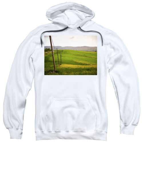 Tuscan Landscapes. Hills In The Spring Sweatshirt