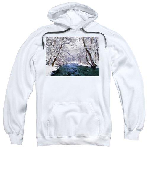 Winter White Sweatshirt