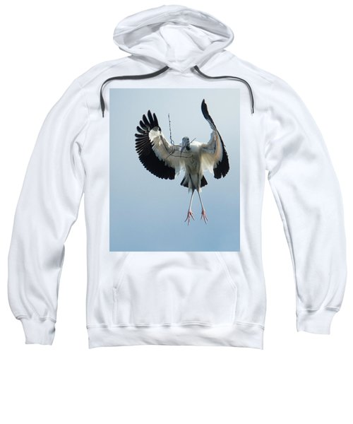 Woodstork Nesting Sweatshirt