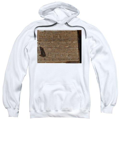 100 Years Of Brands - Meeteetse, Wyoming Sweatshirt