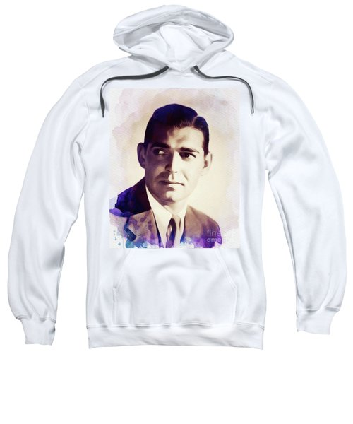 Clark Gable, Vintage Movie Star Sweatshirt
