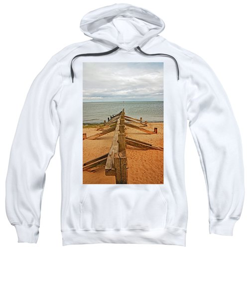19/08/13 Edinburgh, Poetobello. The Shore And Groynes. Sweatshirt