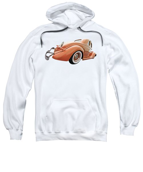 1935 Ford Coupe In Bronze Sweatshirt