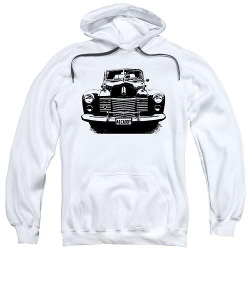 1941 Cadillac Front Blk Sweatshirt
