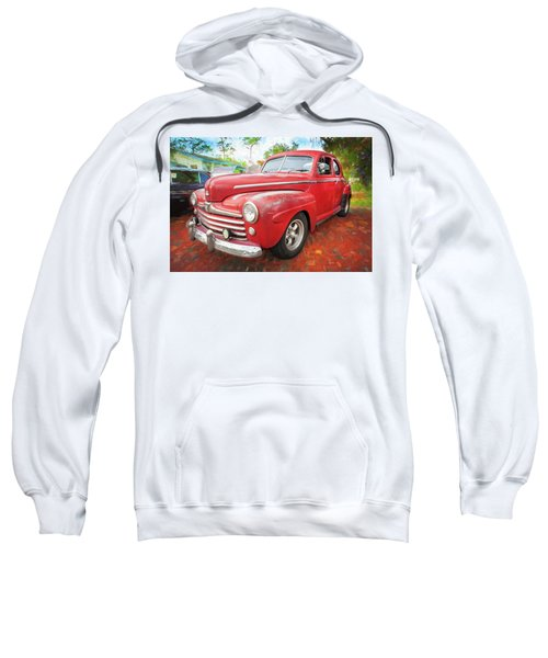 1947 Ford Super Deluxe Coupe 001 Sweatshirt