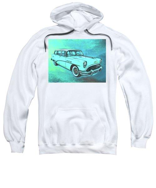 1954 Buick Wagon Sweatshirt