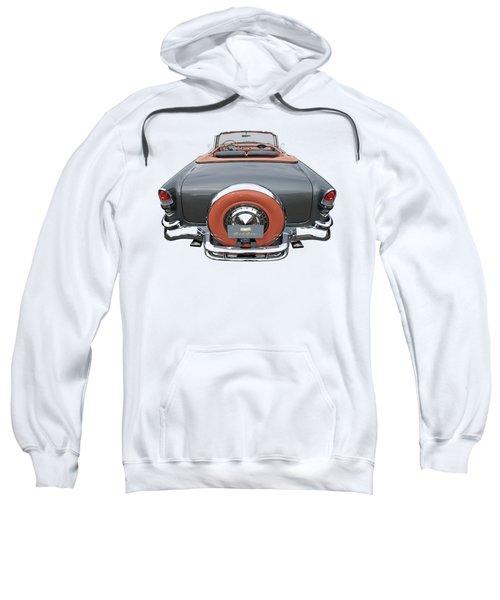 1955 Chevy Bel Air 2-door Convertible Sweatshirt