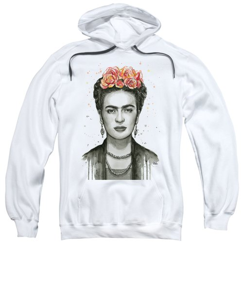 Frida Kahlo Portrait Sweatshirt