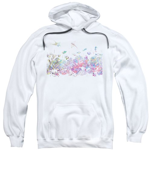 Ocean Bottom With Fishes Sweatshirt
