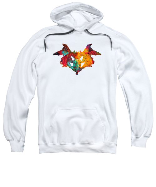 Rorschach Inkblot Test,card 1 Sweatshirt
