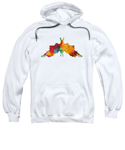 Rorschach Inkblot Test,card 5 Sweatshirt