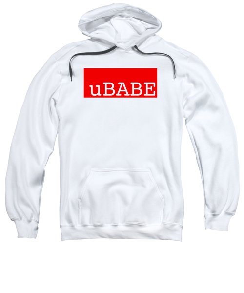 uBABE Label Sweatshirt