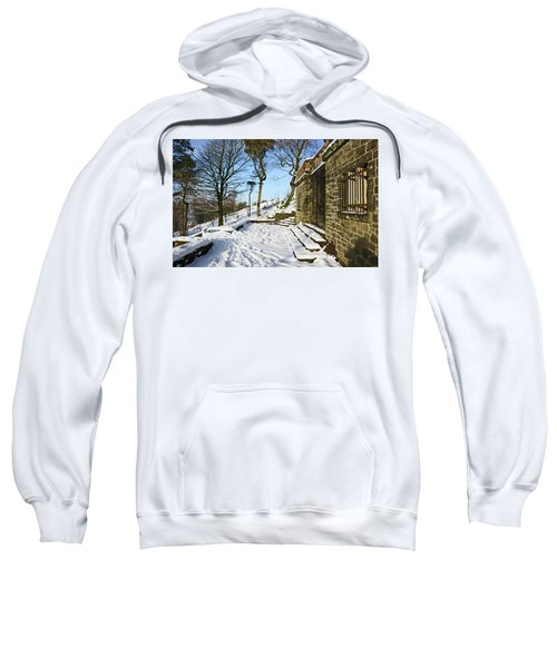 30/01/19  Rivington. Summerhouse In The Snow. Sweatshirt