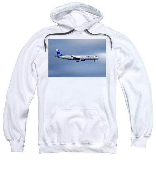 Jetblue Airways Embraer Erj-190ar Sweatshirt